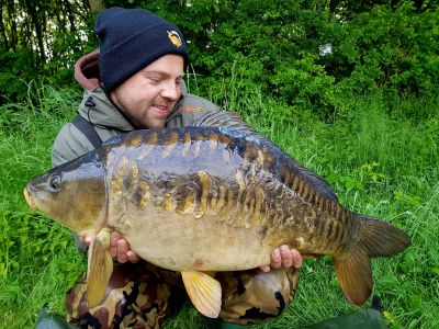 24lb 13oz Meatymite H-DEC Carl Powell