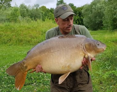 42lb White Pokernut Pop Up Carl Mcguiness