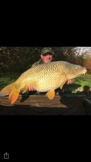 Cecil  With A Lovely 39lb Common.
