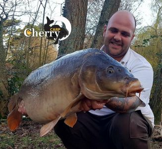Chris Barnes 39lb 8oz Meaty-Mite