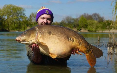 Chris Rutt - 49lb 4oz (The Nun)