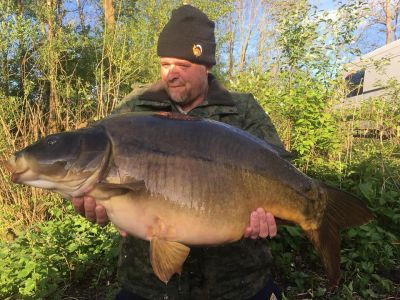 Mark Aimes - 39lb 4oz - PokerNut H-Dec