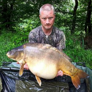 Martin Button - 45lb 5oz - Meaty-Mite