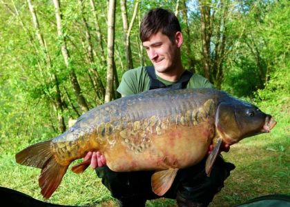 Michael Taylor - 41lb 12oz - PokerNut