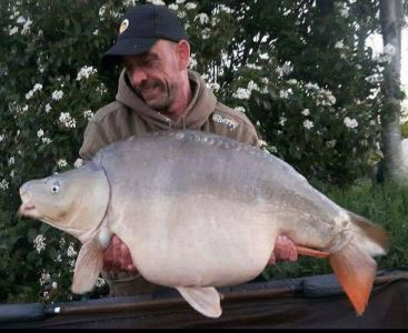 Steve Bird 45lb 4oz Meaty Mite