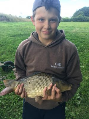 Johns Lads First Carp 2lb 8oz Single Pokernut